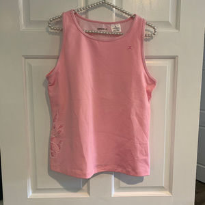 Danskin Pink Athletic Tank Size XL